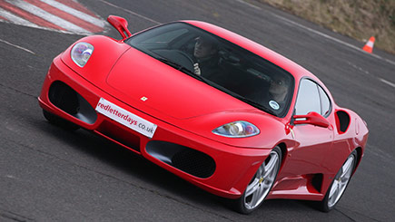 Junior Ferrari Driving Experience In Staffordshire