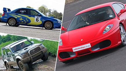 Ferrari, Rally and 4x4 Thrill