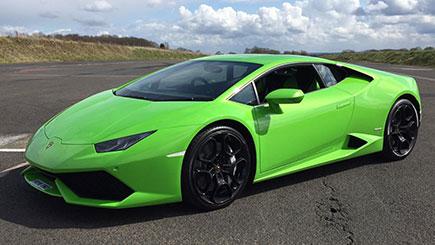 Lamborghini Huracan Blast in Stafford
