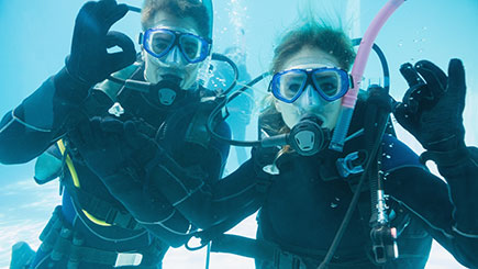 Scuba Diving for Two in Nottingham