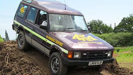 Junior 4x4 Driving in Dorset