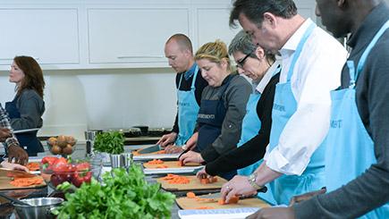Knife Skills Masterclass At Divertimenti Cookery School