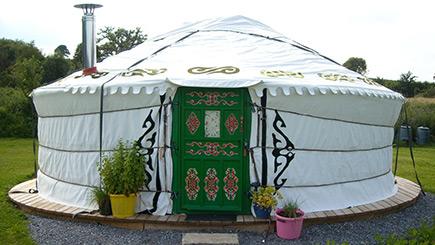 Two Night Yurt Break in Devon (Sleeps Six)