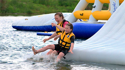 Aquapark Blast for Two in North Devon