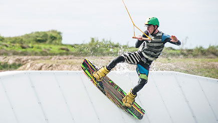 Introduction To Wakeboarding In North Devon