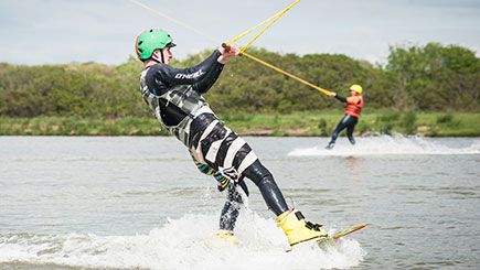Introduction to Wakeboarding for Two in North Devon