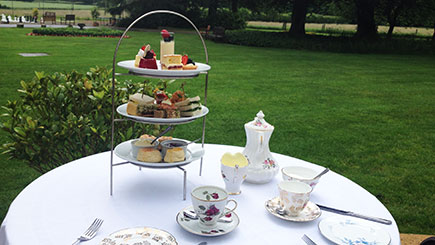 Afternoon Tea for Two at Esseborne Manor Hotel