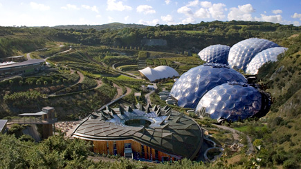 Eden Project Adult and Child Entry Ticket
