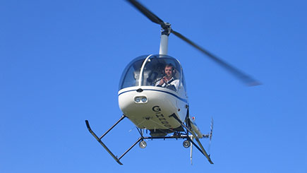 30 Minute Helicopter Flight in West Sussex