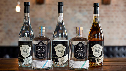 Distillery Tasting Experience for Two at East London Liquor Company