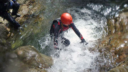 Canyoning in Cumbria
