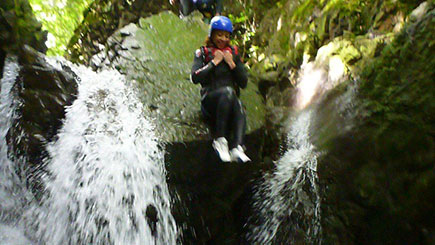 Canyoning for Two in Cumbria