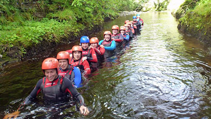 Gorge Walking for Two in Tyne and Wear