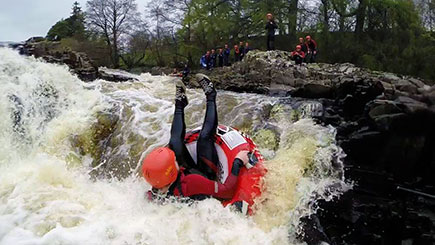 White Water Tubing for Two in Tyne and Wear