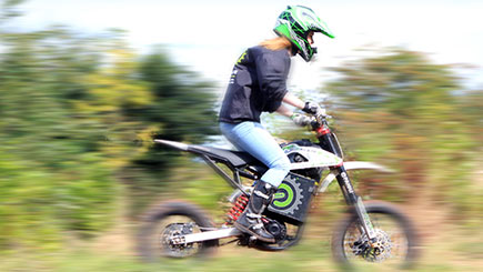Off Road Electric Dirtbiking in Cheshire