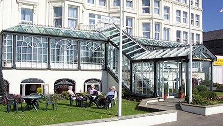 Hotel Escape with Dinner for Two at The Isle of Man Empress Hotel