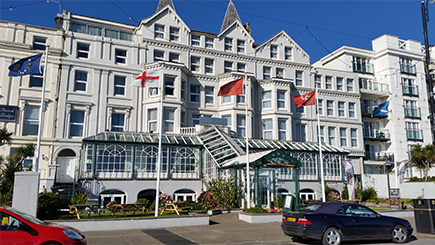 Hotel Escape for Two at The Isle of Man Empress Hotel