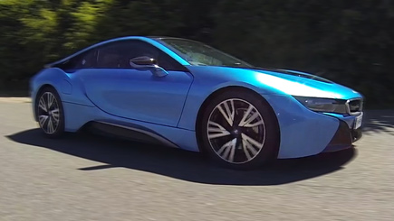 BMW i8 Thrill in Elvington