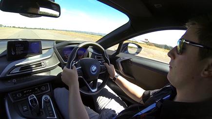 BMW i8 Thrill in Loughborough