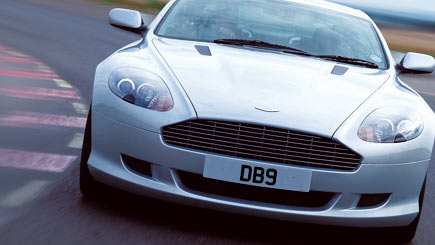 Ferrari And Aston Martin Driving At Smeatharpe