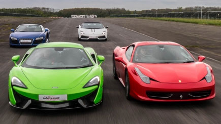 Double Platinum Supercar Blast at Brands Hatch