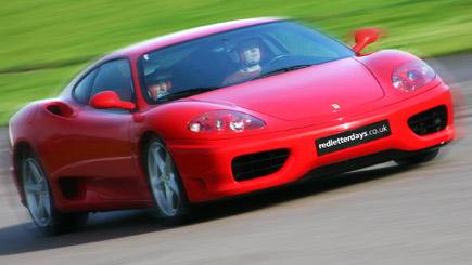 Junior Ferrari Driving At Dunsfold Park