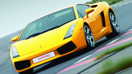 Junior Lamborghini Driving at Dunsfold Park
