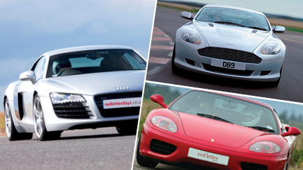 Triple Supercar Thrill at Goodwood
