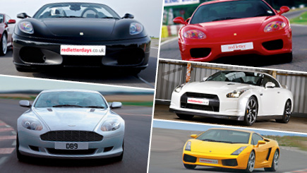 Five Supercar Thrill at Oulton Park