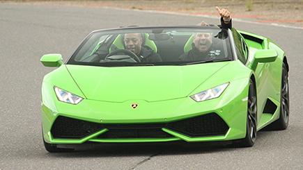 Lamborghini Huracan Thrill at Elvington