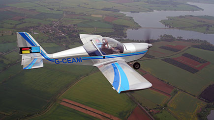 60 Minute Fixed Wing Microlight Flight in Northamptonshire