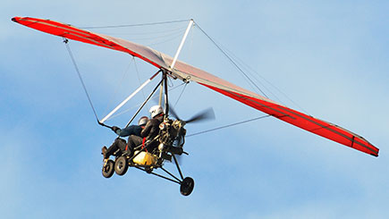20 Minute Flex Wing Microlight Flight in Northamptonshire