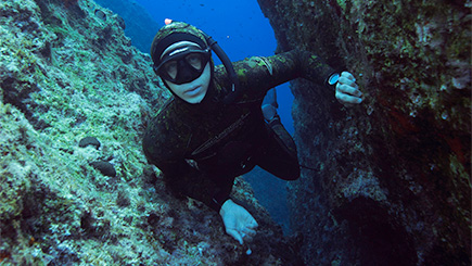 Underwater Foraging Course In Cornwall