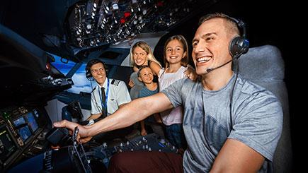 60 Minute Boeing 737 Simulator Flight in London