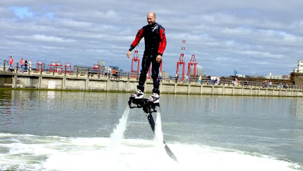 Flyboarding in Liverpool