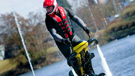 Water Jet Biking in Wirral