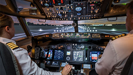 60 Minute Boeing 737 Flight Simulator Trip in Newcastle-Upon-Tyne