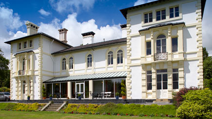 Country House Escape for Two at Falcondale Mansion, Ceredigion