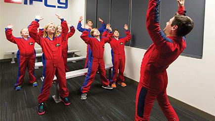 Kids Indoor Skydiving For Two In Basingstoke