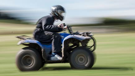 Quad Safari for Two in County Durham