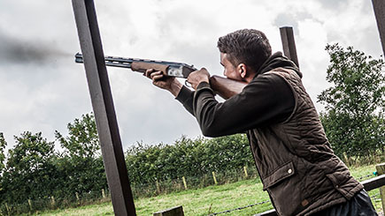 Clay Pigeon Shooting for Two in County Durham