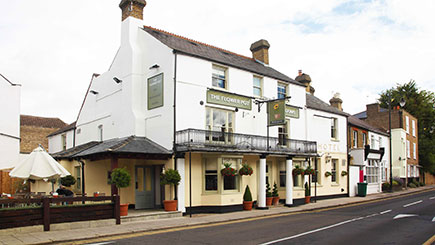 Hotel Escape for Two at The Flower Pot, Middlesex