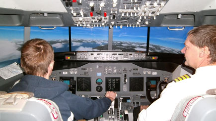 60 Minute Boeing 737 Simulator Flight in Bedfordshire