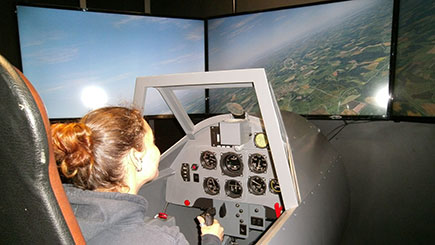 90 Minute Boeing 737 Simulator Flight In London