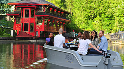 Be Your Own Captain on the London Canals Experience for Two