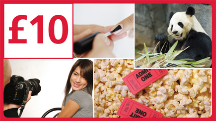 Red Letter Days £10 Gift Card