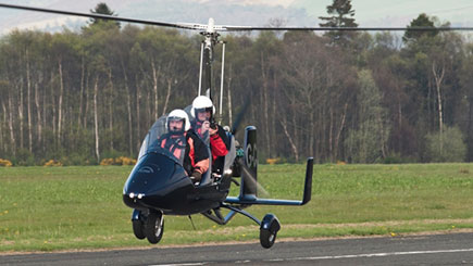 60 Minute Gyrocopter Flight