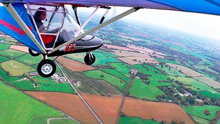 10 Minute Fixed Wing Microlight Flight