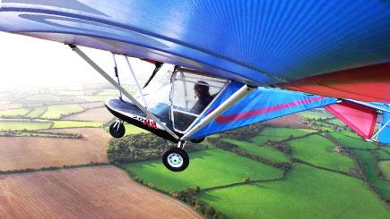 60 Minute Fixed Wing Microlight Flight
