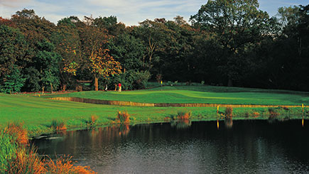 Golf Masterclass with a PGA Pro and Lunch at Marriott Worsley Park